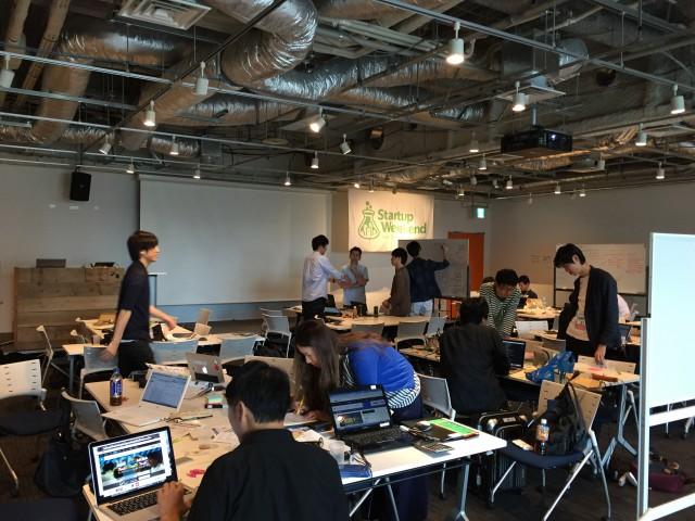 Startup Weekend Tokyo IoTに青柳が登壇しました